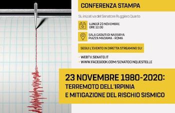 23 novembre 1980-2020: Terremoto dell'Irpinia e mitigazione del rischio sismico