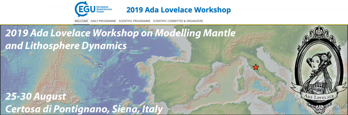 2019 Ada Lovelace Workshop on Numerical Modelling of Mantle and Lithosphere Dynamics