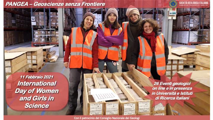 PANGEA - Geoscienze senza frontiere: eventi organizzati per la Giornata Internazionale delle donne e delle ragazze nella Scienza