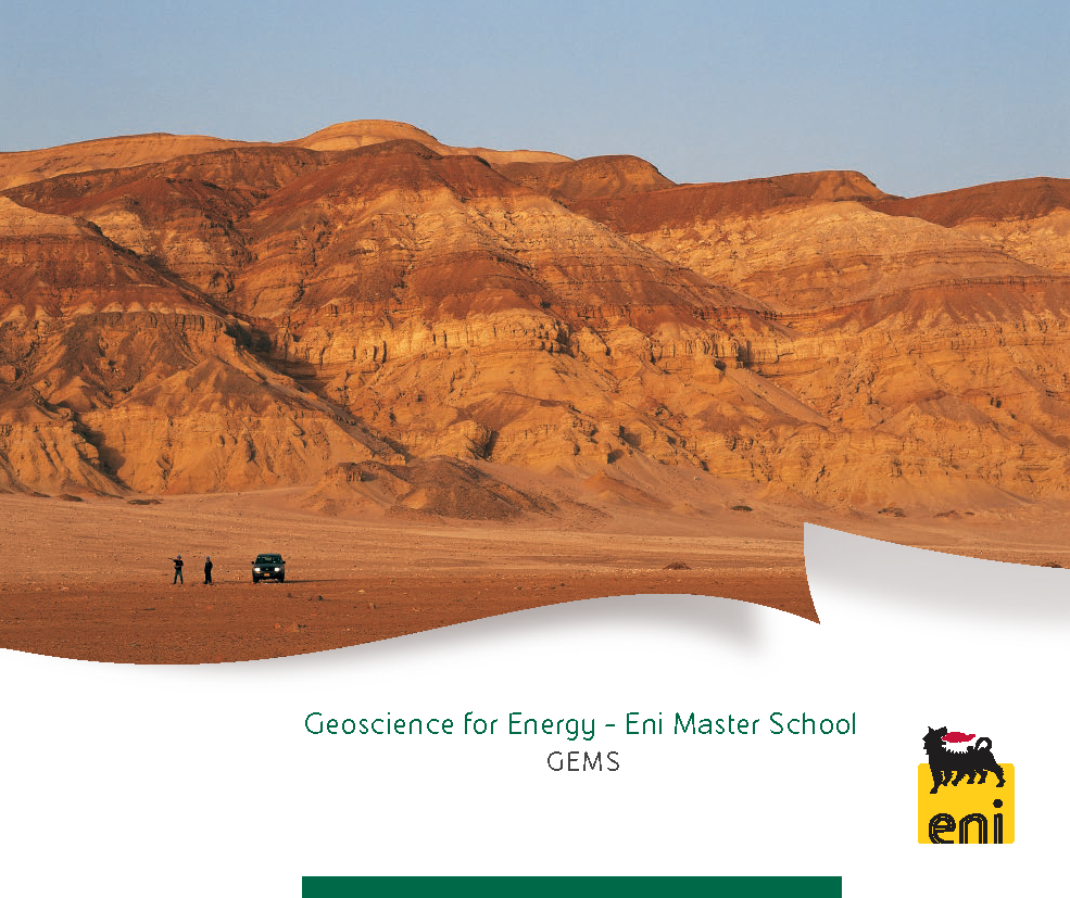 Geoscience for Energy - Eni Master School GEMS
