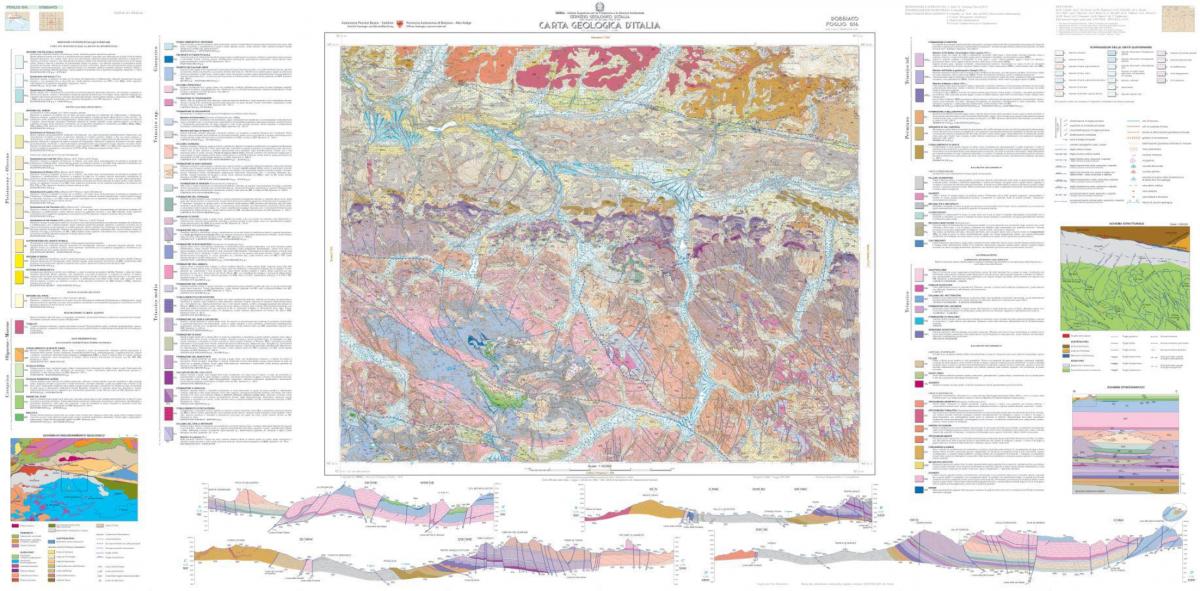 Presentazione del Foglio Geologico 016 Dobbiaco 1:50.000 del progetto CARG