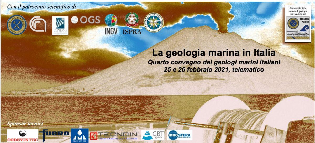 4° Convegno dei Geologi Marini Italiani – 25-26 febbraio 2021 Terza Circolare - Programma dei lavori