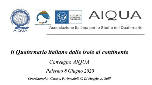 Il Quaternario italiano dalle isole al continente