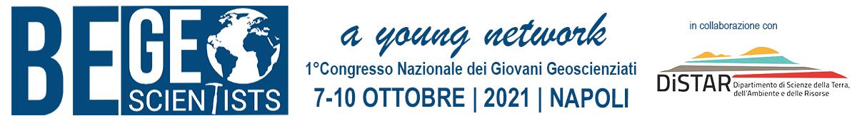 BeGeoScientists2021 - 1° Congresso Nazionale dei Giovani Geoscienziati