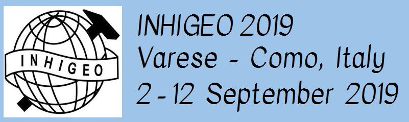 INHIGEO 2019 Call for Abstracts - extended deadline 1 March 2019