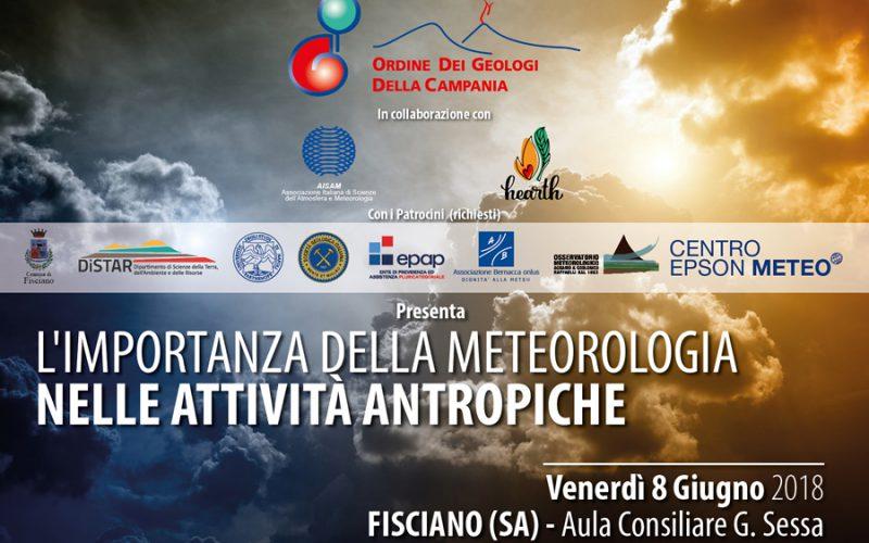 L'importanza della meteorologia nelle attività antropiche