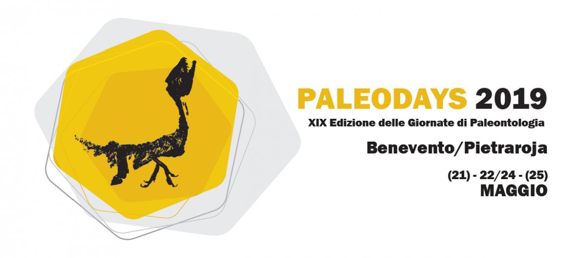 Paleodays 2019 - XIX Edizione delle Giornate di Paleontologia:  pubblicata la seconda circolare