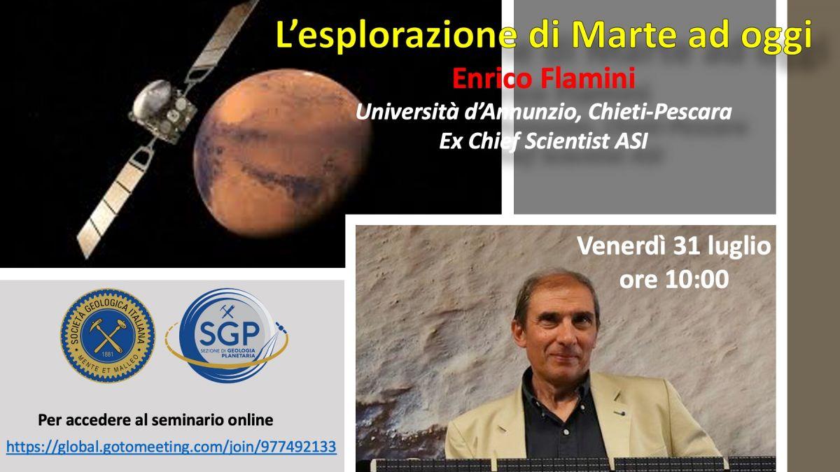 L'esplorazione di Marte ad oggi - di Enrico Flamini