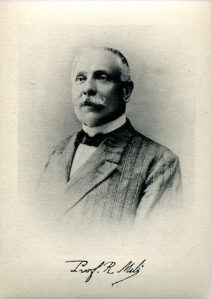 Romolo Meli (Roma, 23 aprile 1852 – 1 gennaio 1921)