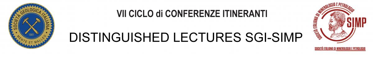 7° CICLO di CONFERENZE ITINERANTI Distinguished Lectures SGI - SIMP