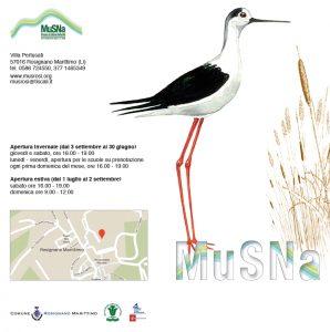 Inaugurazione della nuova sede del Museo di Storia Naturale di Rosignano